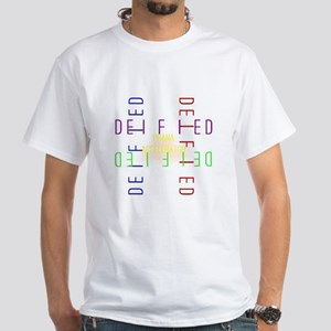 Deified: Four Square White T-Shirt