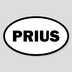 Prius Oval Sticker