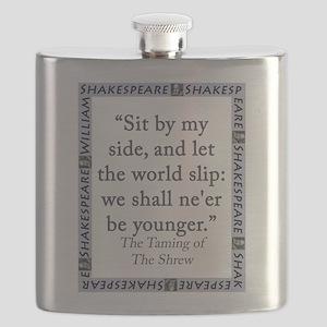 Sit By My Side Flask