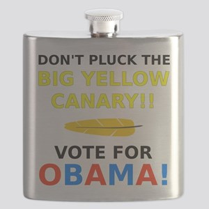 Big Yellow Canary Flask