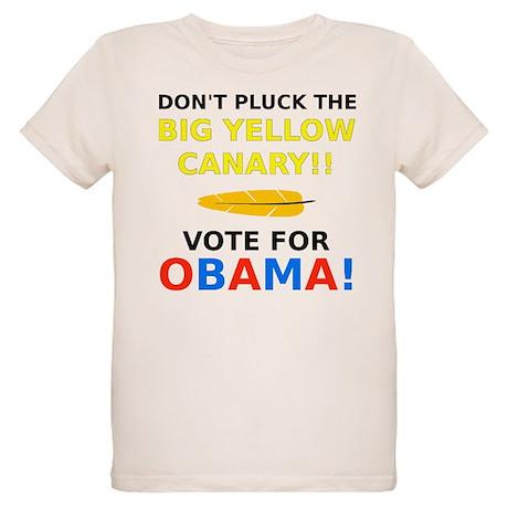 Big Yellow Canary Organic Kids T-Shirt