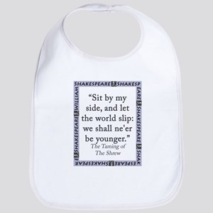 Sit By My Side Cotton Baby Bib