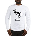 Kokopelli Snowboarder Long Sleeve T-Shirt