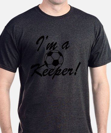 Im a Keeper Blk T-Shirt