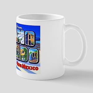 Alamogordo New Mexico Greetings Mug