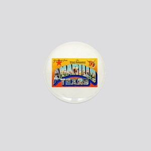 Amarillo Texas Greetings Mini Button
