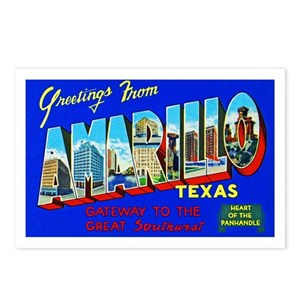 Amarillo texas postcards cafepress m4hsunfo