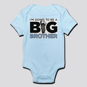 Im Going To Be A Big Brother Infant Bodysuit