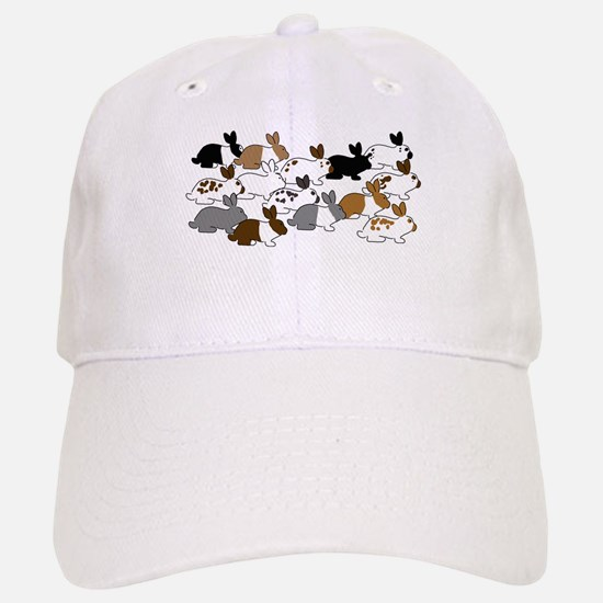 Many Bunnies Baseball Baseball Cap