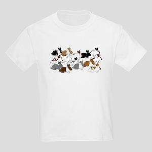 Many Bunnies Kids Light T-Shirt