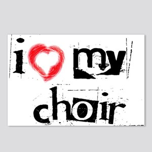 I *heart* my choir! Postcards (Package of 8)