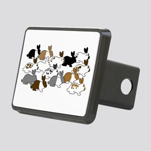 Many Bunnies Rectangular Hitch Cover