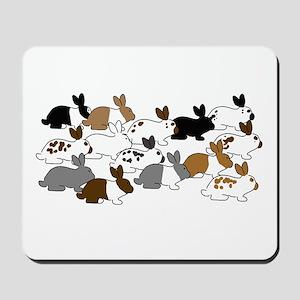Many Bunnies Mousepad