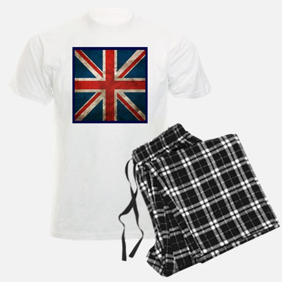 UK British English Union Jack Pajamas