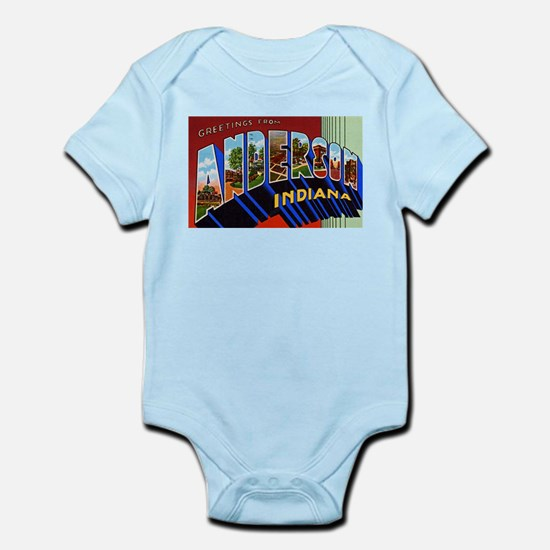 Anderson Indiana Greetings Infant Bodysuit