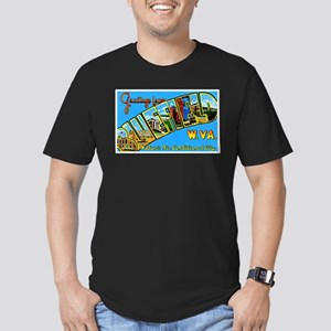 Bluefield West Virginia Greetings Men's Fitted T-S