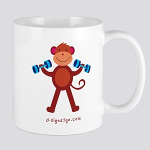 Monkey Mug Weightlifting