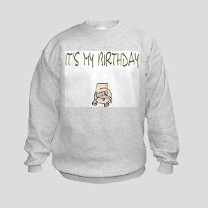 It's My Birthday 5 Kids Sweatshirt