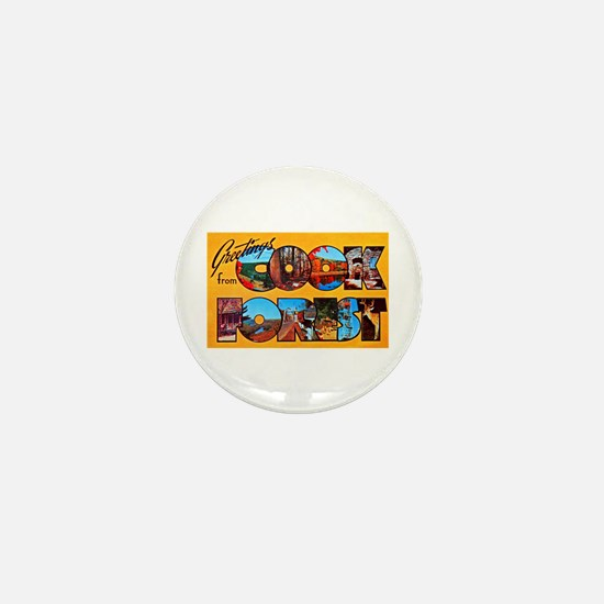 Cook Forest Greetings Mini Button