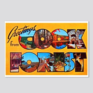 Cook Forest Greetings Postcards (Package of 8)