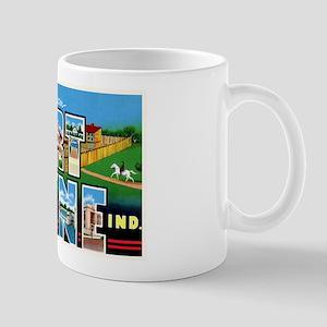 Fort Wayne Indiana Greetings Mug