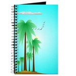 Palm Tree Scene Journal