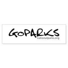 GoParks! Sticker (Bumper)