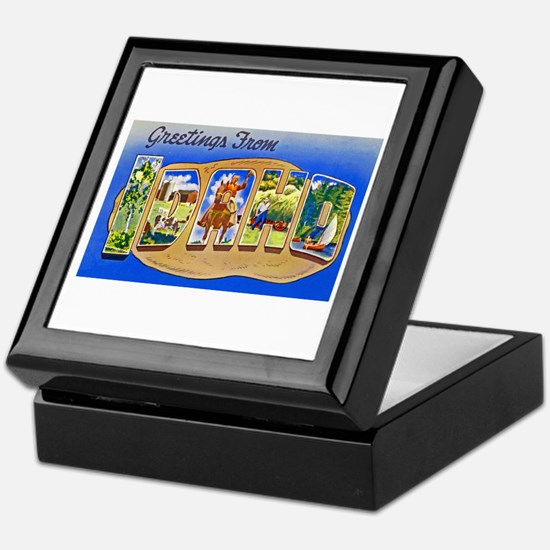 Idaho Greetings Keepsake Box
