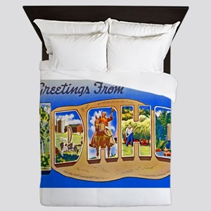 Idaho Greetings Queen Duvet