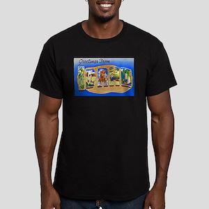 Idaho Greetings Men's Fitted T-Shirt (dark)