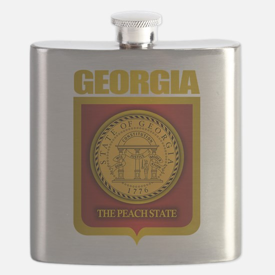 Georgia (Gold Label).png Flask