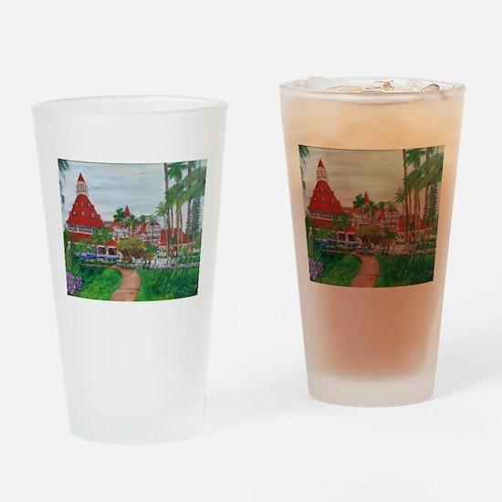 Coronado Hotel Del Drinking Glass