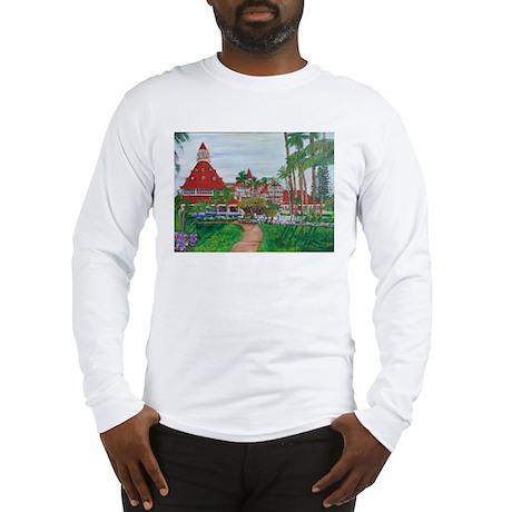 Coronado Hotel Del Long Sleeve T-Shirt
