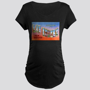 Las Cruces New Mexico Greetings Maternity Dark T-S