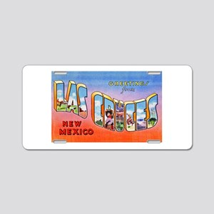 Las Cruces New Mexico Greetings Aluminum License P