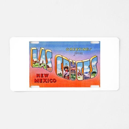 Las Cruces New Mexico Greetings Aluminum License P