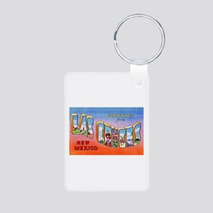 Las Cruces New Mexico Greetings Aluminum Photo Key