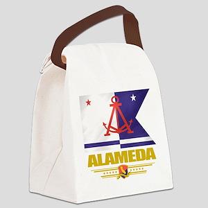 Alameda (Flag 10) Canvas Lunch Bag