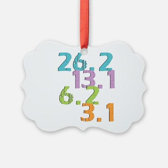 runner distances Ornament