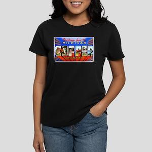 Michigan Copper Country Women's Dark T-Shirt