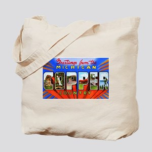 Michigan Copper Country Tote Bag