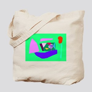 Going to Sea Foreign Country Shell Beach Tote Bag
