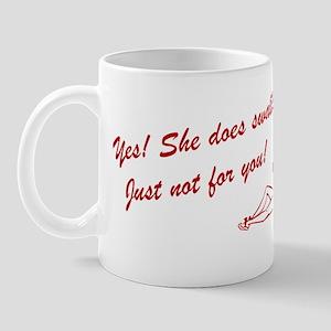 She Sawllows Mug