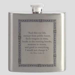 And This Our Life Flask
