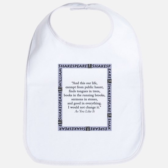 And This Our Life Cotton Baby Bib