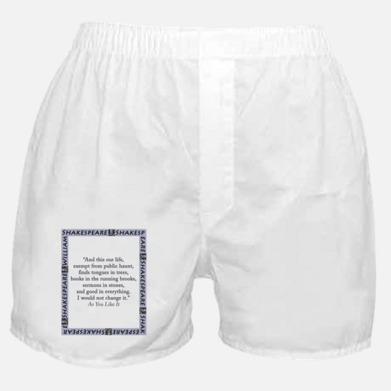 And This Our Life Boxer Shorts