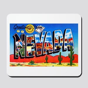 Nevada Greetings Mousepad