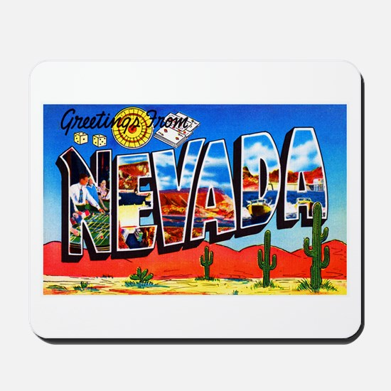 Nevada Greetings Mousepad