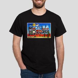 Nevada Greetings Dark T-Shirt