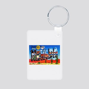 Nevada Greetings Aluminum Photo Keychain